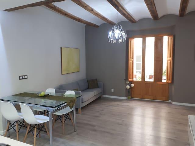 Apartamento amplio en pleno centro