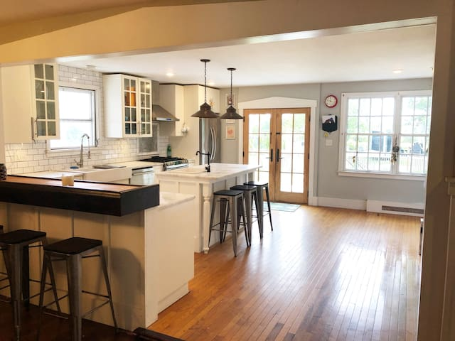 Restored Historic home with water view