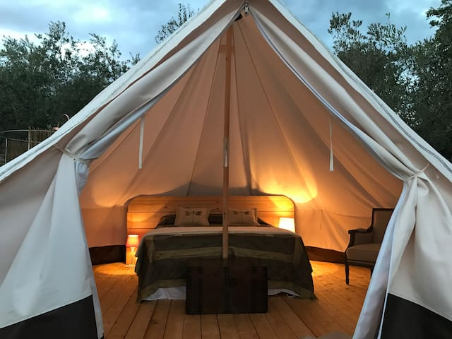 The Lazy Olive Glamping in Tuscany - Tent 3/8