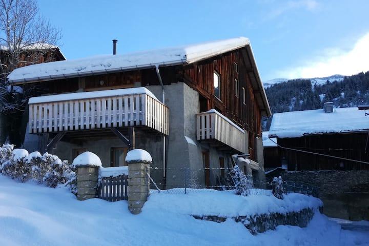 Vaste chalet au royaume du ski nordique et du VTT