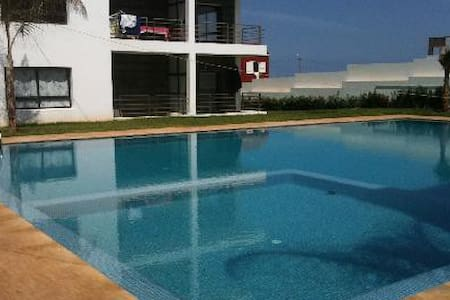 Charming Beachfront Appartment with sea-view - Casablanca - Lejlighedskompleks