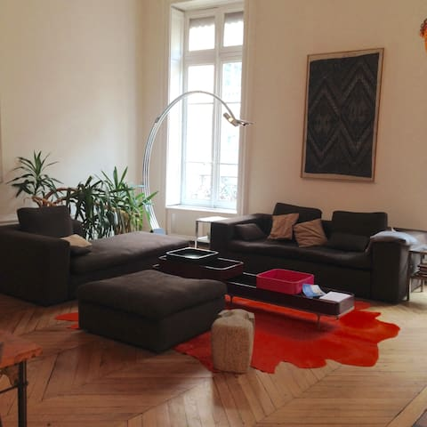 "Apartment in the center of ""le carré d'or"""