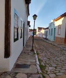 Centro Histórico da Velha Goiás: quarto tranquilo