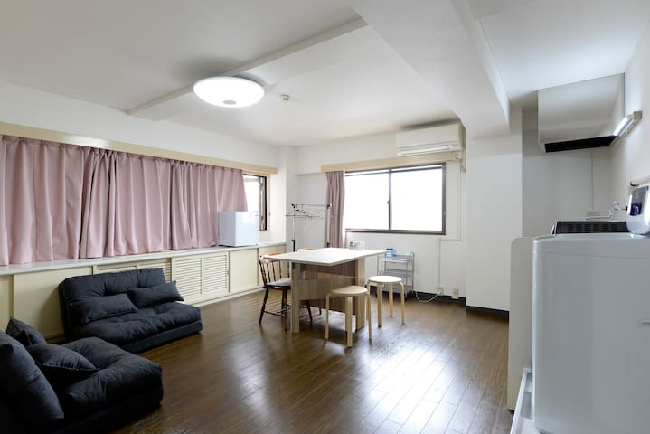Asakusa spacious cozy Apt ★free WiFi★ 55㎡