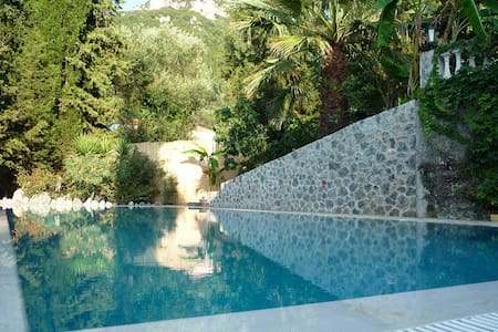 Top privacy villa 245m2 with 2 houses - Corfu