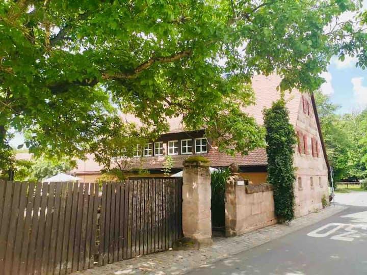 Homeoffice/Fewo zentrumnah Nürnberg/Erlangen