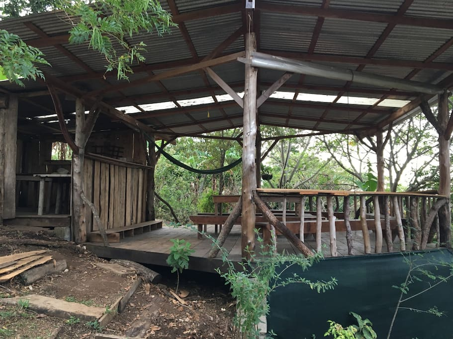 The Outdoor Rancho is a great place to work while surrounded by peaceful nature