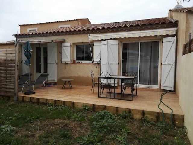 Maison neuve avec jardin A 10 mn de Valras Plage