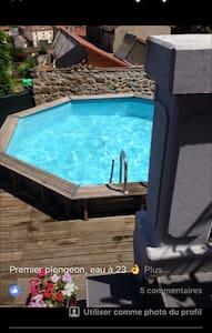 chambres dans maison avec piscine - Villars - Ev