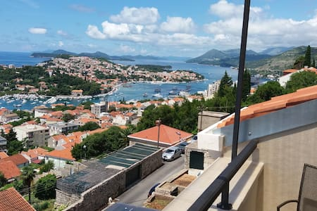 Loft Apartment with Seaview Balcony + Parking - Dubrovnik