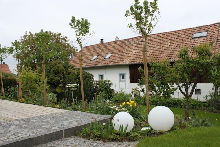 Charmante et douillette maison avec garage - Pfastatt - Dom