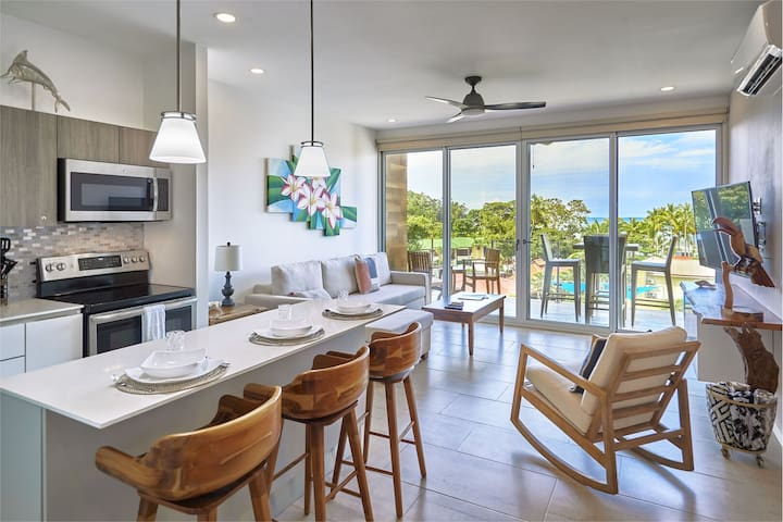 Inspiring Ocean and Sunset Views from this Brand New Condo!