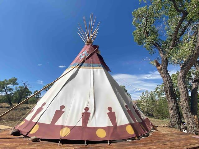 Camp Neverland Riverfront Tipi