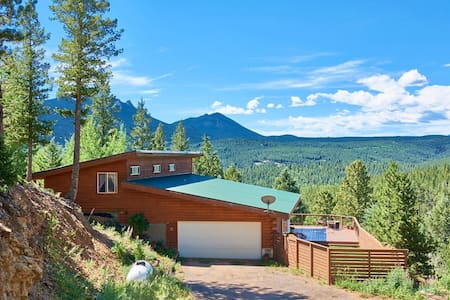 Cozy Cabin Retreat Above Boulder! - Nederland - Σπίτι