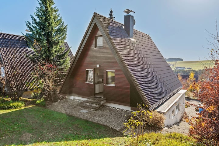 Detached house in a holiday park in the Hotzenwald with terrace and garden