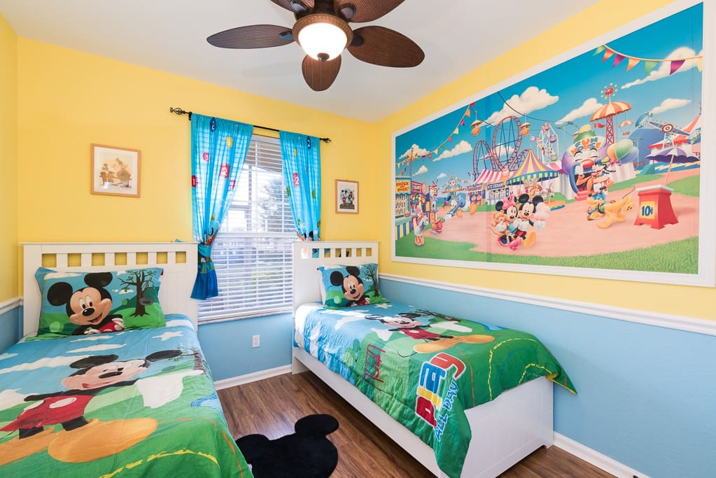 The kids will love having their own bedroom