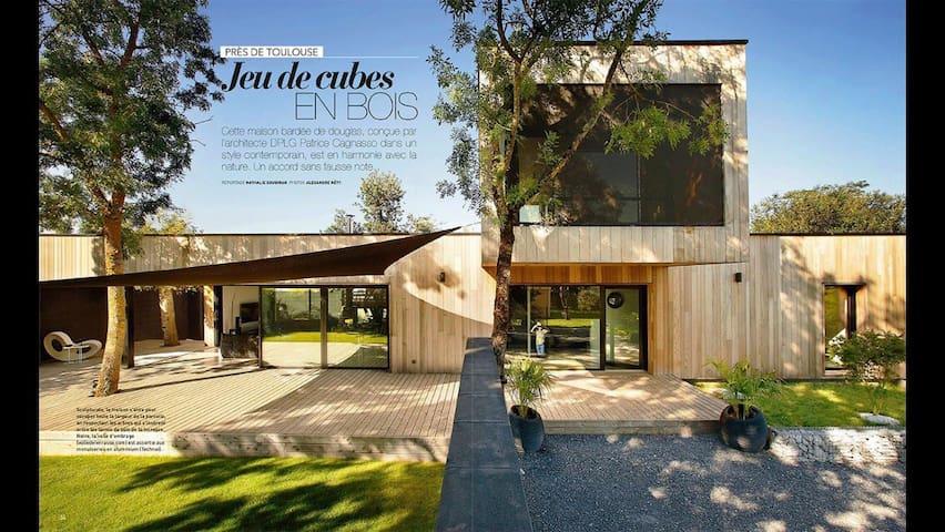 Atypique Villa d'architecte
