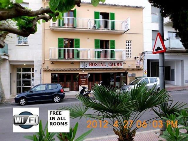 HOSTAL CALMA IN MAJORCA , SPAIN - Port d'Alcúdia - Bed & Breakfast