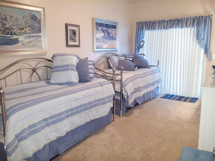 LUXURY Two Twin beds w Trundle beds