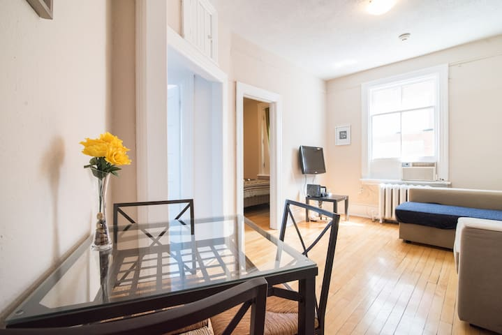 Explore Downtown from an Urban NYC Style Apartment