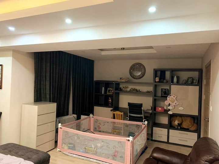 Clean furnished Luxury Apartment in Zaisan!