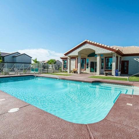 213-  2BR Apartment in Coolidge, AZ w pool, gym