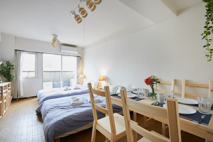3min from Shibuya Sta★Free WiFi★EXCELLENT LOCATION