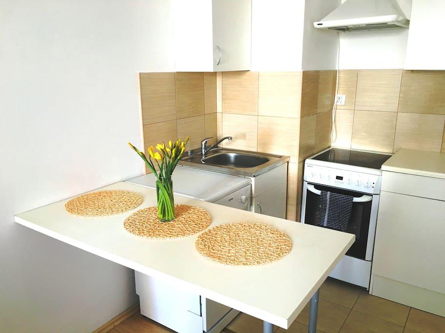 Aneks kuchenny w pełni wyposażony