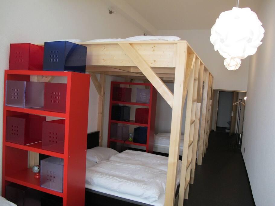 chambre pour 1 à 10 personnes