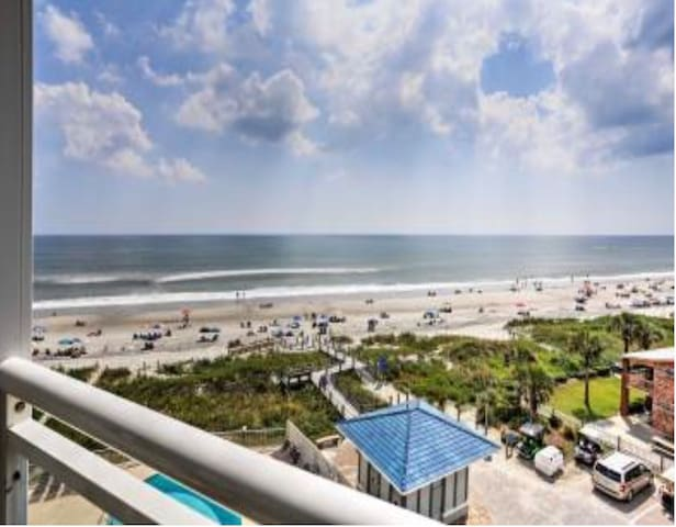 OCEAN FRONT , Amazing VIEWS , FAMILY  North Myrtle