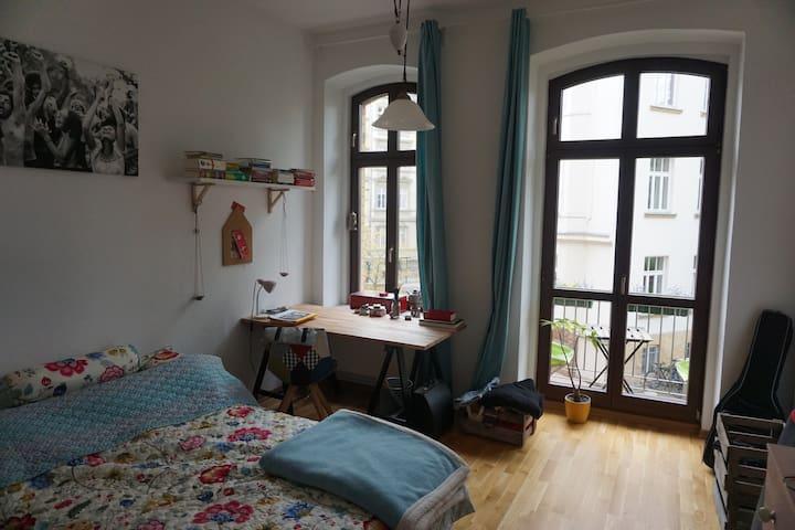 Gemütliche, zentral gelegene Wohnung mit Balkon - Lipsia - Condominio