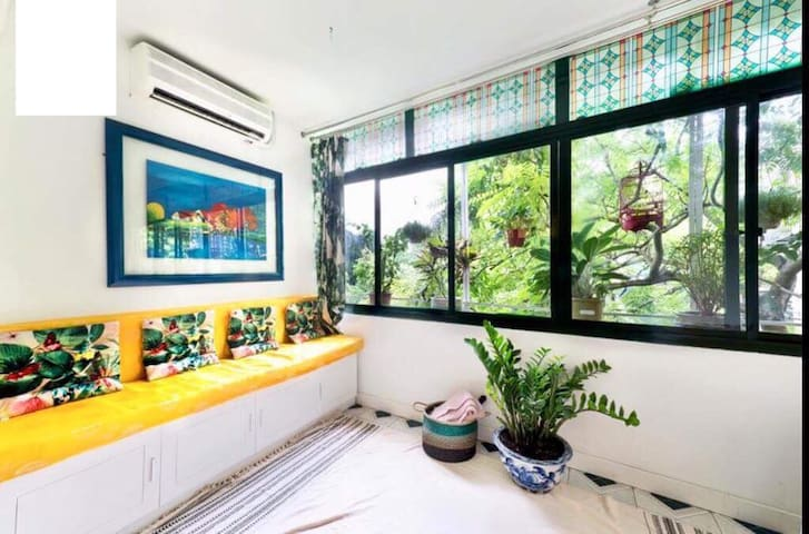 Your green cozy love-nest in the heart of Hanoi