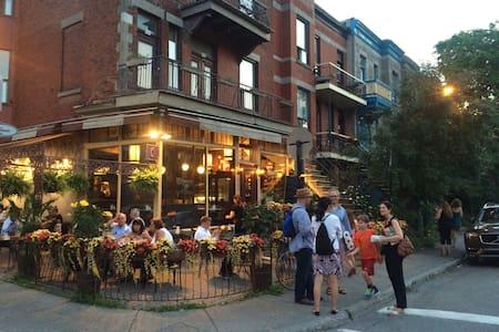 Condo by the loveliest corner in Montreal... - Montréal - Íbúð