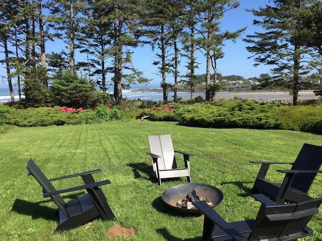 MIDCENTURY MODERN OCEAN FRONT! - Yachats - House