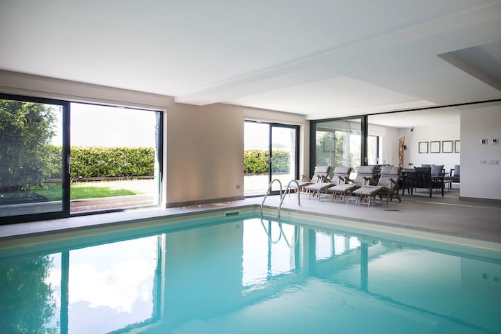 SUITE & POOL-Como Lake apartm 160mt