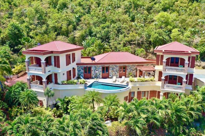 Oceanic Views &  Luxury Villa Destination Weddings