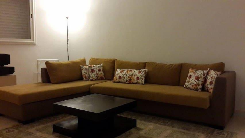 Bel appartement neuf avec jardin - Jardins d'El Menzah 2 - Huoneisto