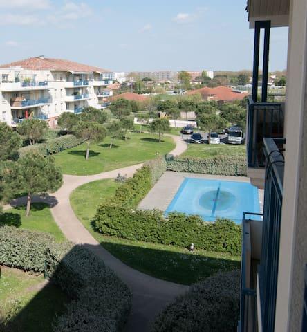 Appartement avec terrasse à 5min du métro - Tolosa - Condominio