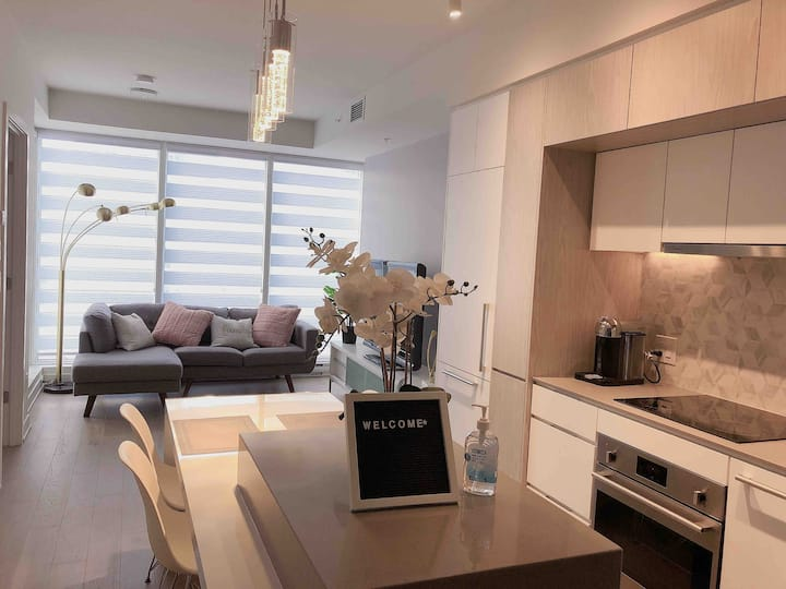 Brand new and sweet condo for best location