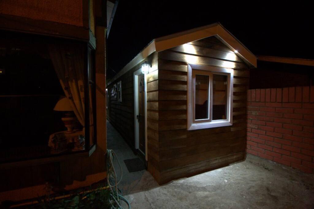 Hermosa cabaña al costado de mi casa