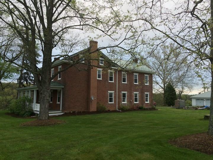 Quiet Farm House on Bison Farm