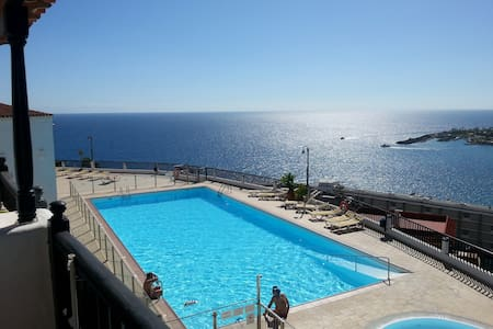 Bungalow, pool, fantastic view - Patalavaca - Bungalow