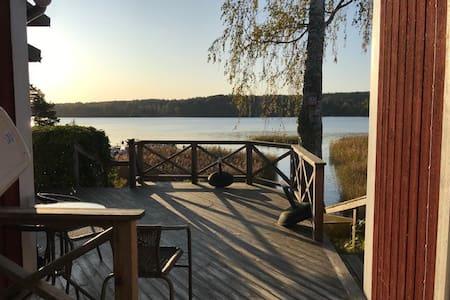 Hus i lugn miljö vid sjön Möckeln, 2 bäddar