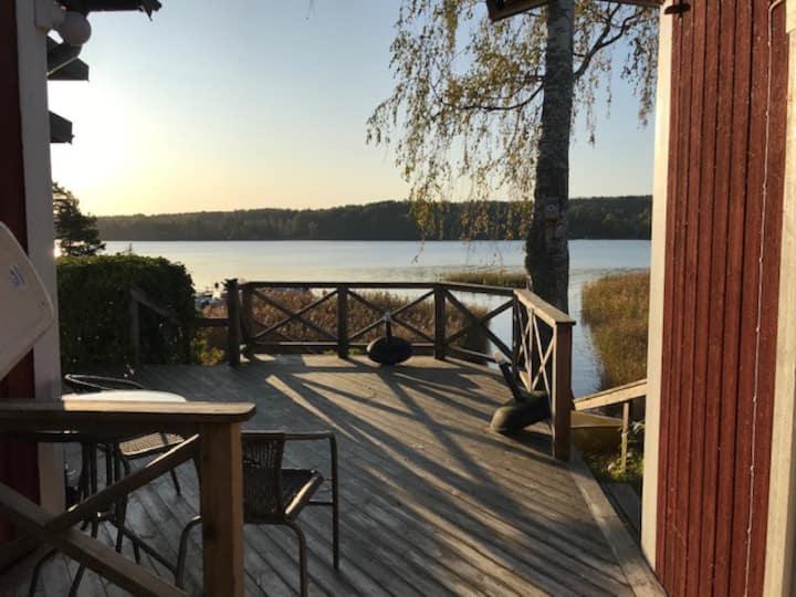 Hus i vacker och lugn miljö vid sjön Möckeln
