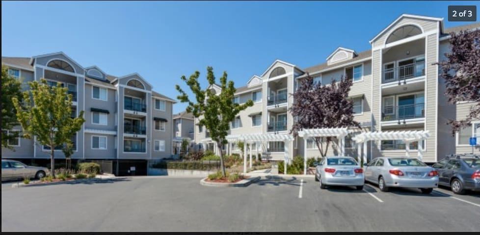 Apt 10 mins - Stanford/PA downtown - Palo Alto - Apto. en complejo residencial