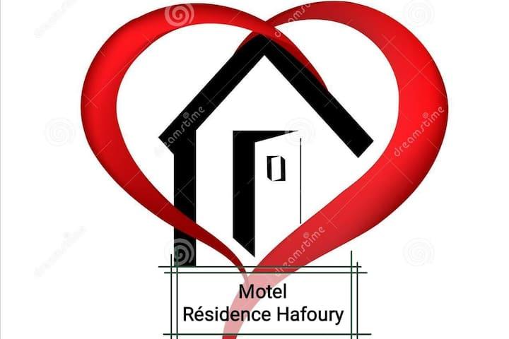 R1 Résidence Hafoury (lit Queen+WiFi)