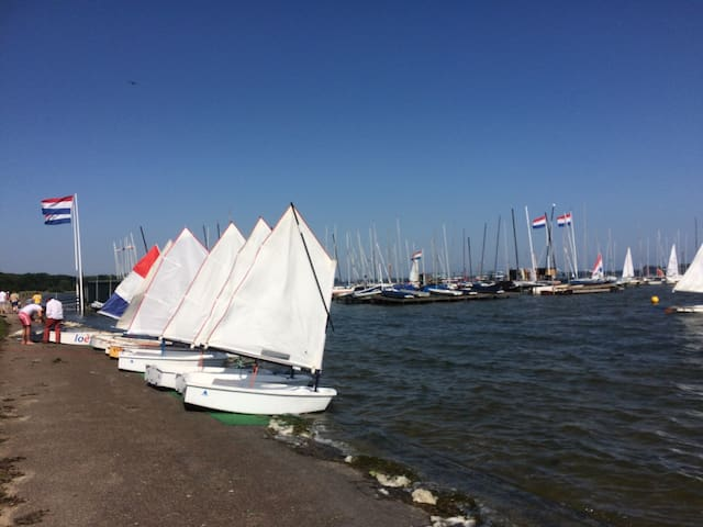 Sailing boats and lessons available