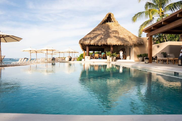 Full, Unrestricted Access to the Pacifico Beach Club Right Across the Street Included!