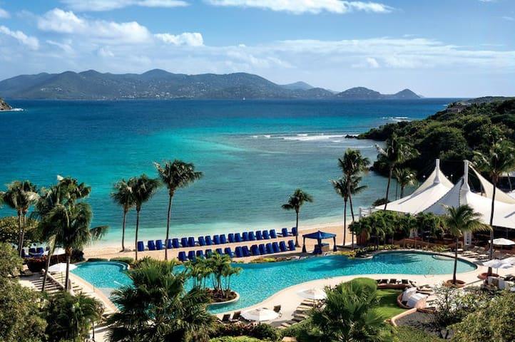 Ritz Carlton St.Thomas beach front