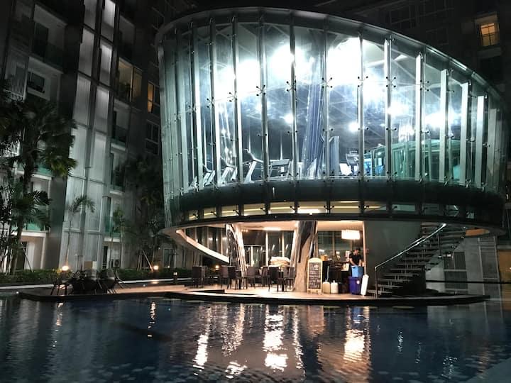 芭提雅市中心最美/健身/泳池/公寓
